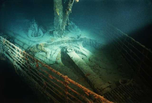 Las bacterias marinas devoran el Titanic