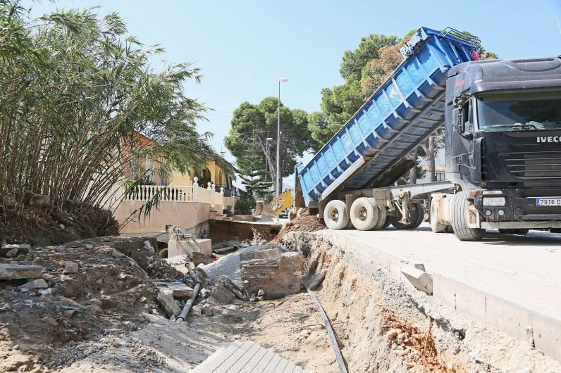 ©DIPUTACIÓN ALICANTE Trabajos de recuperación