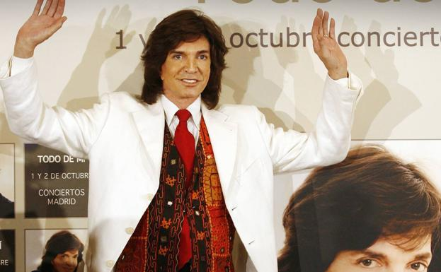 El cantante Camilo Sesto en una imagen de archivo. / RC