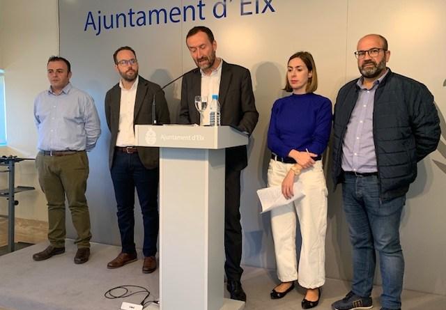 """El alcalde de Elche exige a Aparcisa """"que se pronuncie con claridad sobre si desea o no alcanzar un acuerdo"""""""