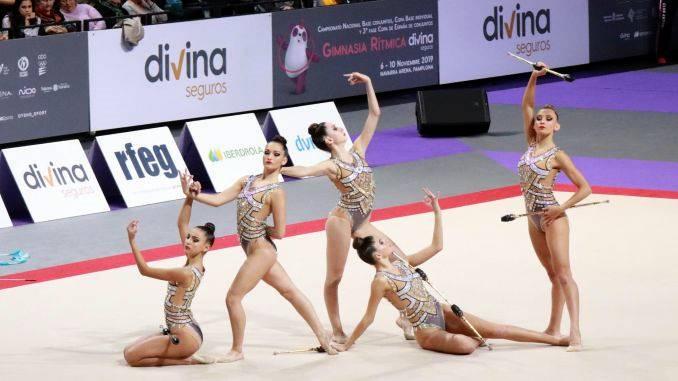 Tres oriolanas campeonas de España en gimnasia rítmica
