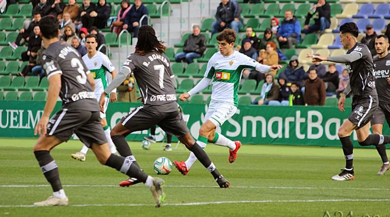 Elche club de fútbol empata a uno con la unión deportiva Alcorcón