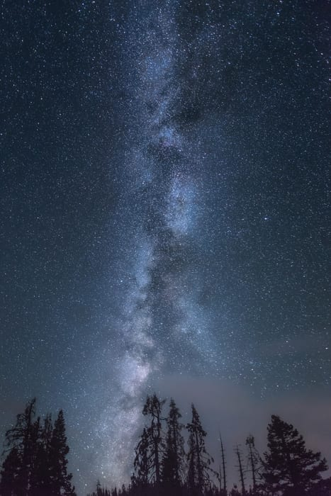 Aprende los parámetros básicos para fotografiar la Vía Láctea