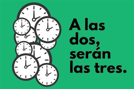 La madrugada del domingo, 29 de marzo, comienza el «horario de verano»