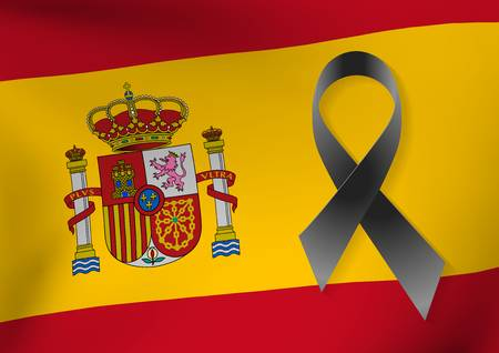 84356765-stock-vector-background-of-spain-flag-with-a-black-ribbon-to-commemorate-and-mourn-the-victims-and-dead-people-ba