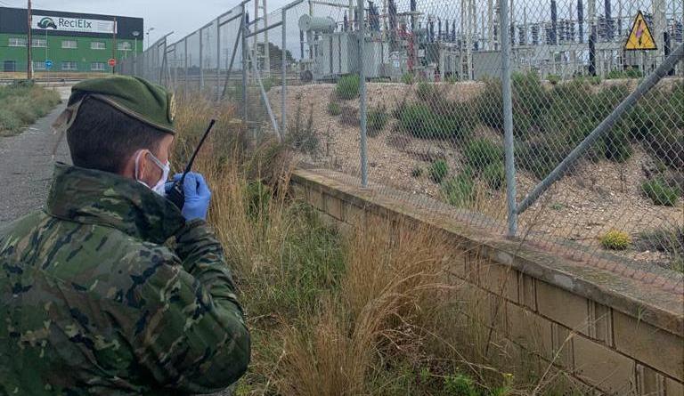 El Ejército de Tierra despliega por primera vez en Santa Pola