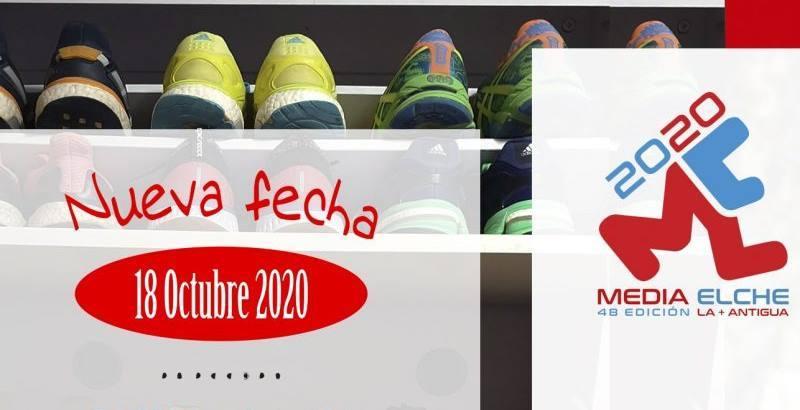 La Media Maratón Ciudad de Elche se mantiene para el 18 de octubre
