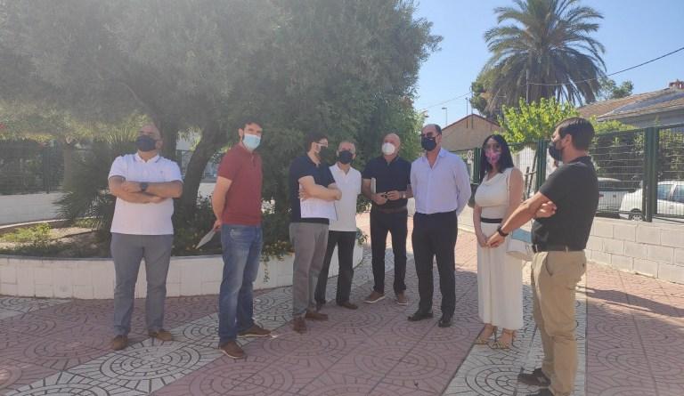 El Ayuntamiento de Orihuela inicia las obras del Consultorio Médico de Hurchillo