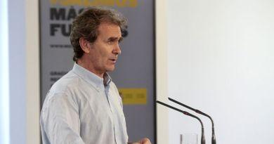 El director del CCAES, el doctor Fernando Simón (Foto. La Moncloa)