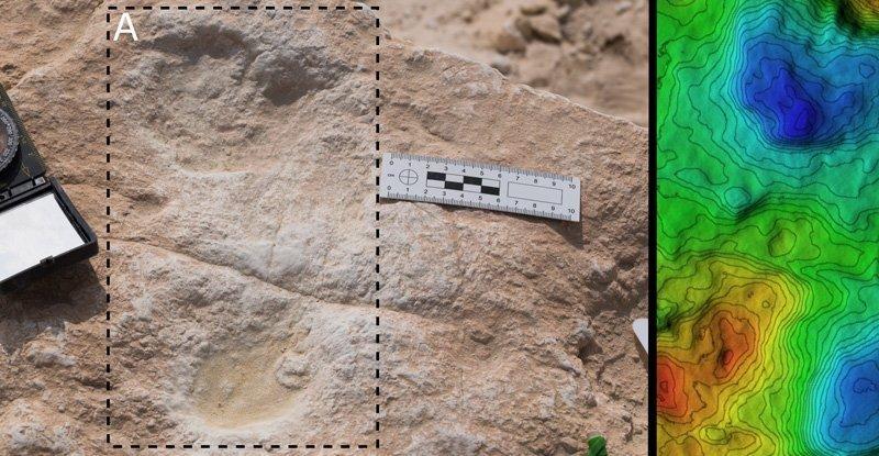 Encuentran huellas humanas de hace 120.000 años en Arabia Saudita