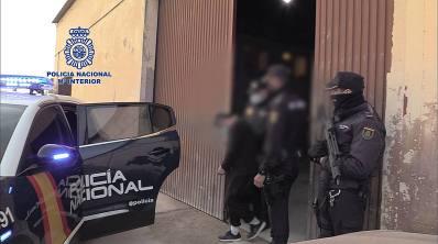 Policia Nacional detencion