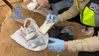 Policia Nacional dinero