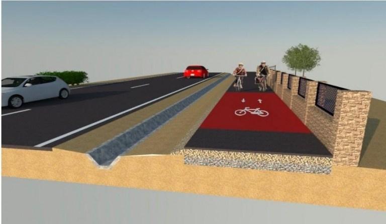 El Ayuntamiento firma el contrato que dará paso al inicio de las obras del Carril-Bici entre Orihuela-Montepinar