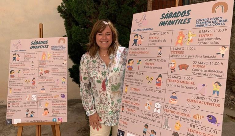 Cultura ofrece actividades infantiles gratuitas las mañanas de los sábados en Orihuela y la costa