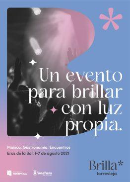 Cartel Genérico Brilla Torrevieja