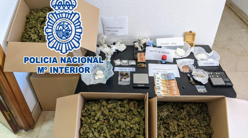 La Policía Nacional ha detenido en la ciudad de Denia a 7 personas en el marco de una operación policial contra el tráfico de drogas