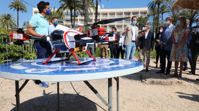 Ximo Puig anuncia el uso de drones para frenar ahogamientos en las playas y pide prudencia a la ciudadanía para disfrutar de estos espacios naturales
