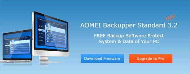 AOMEI Backupper Standard 3.2