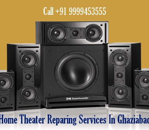 Home Theater Repairing Services in Ghaziabad