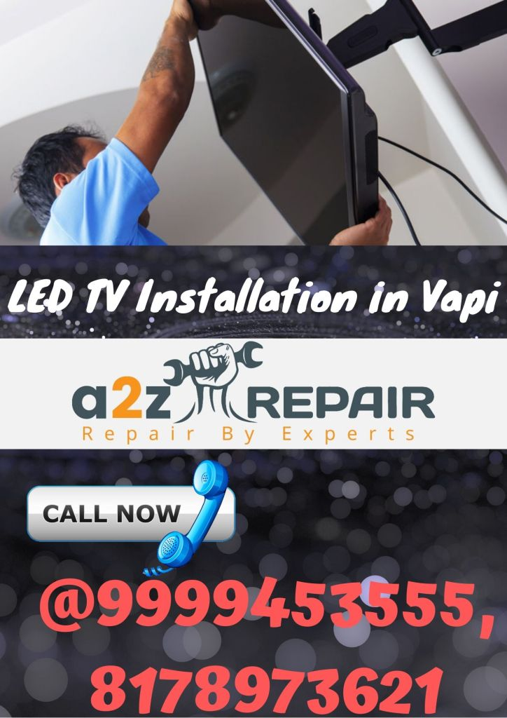 LED TV Installation in Vapi