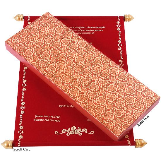 scroll wedding cards, scroll wedding invitations, scroll invitations