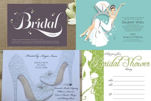 Bridal Shower Invitations- A2zweddingcards