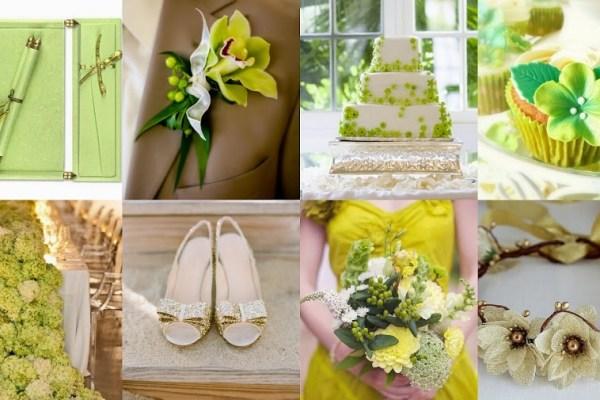 Kelly Green Blush Color Wedding Theme-A2zWeddingCards