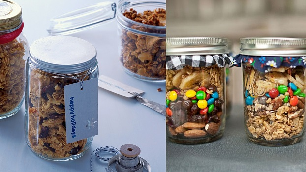 Homemade Granola Favors | A2zWeddingCards