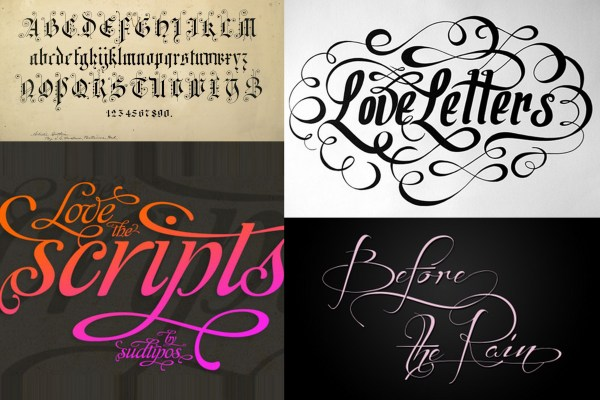 Typography Style Wedding Invitations | A2zWeddingCards