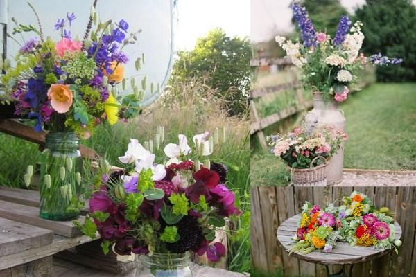 Eco-Friendly Wedidng- Orgnaic Flowers