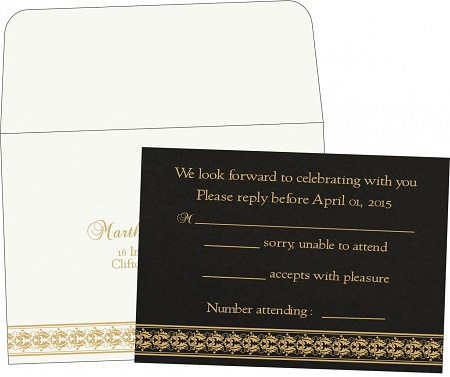 Wedding Response Cards-A2zWeddingCards