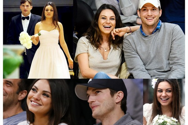 Mila Kunis & Ashton Kutcher - A2zWeddingCards