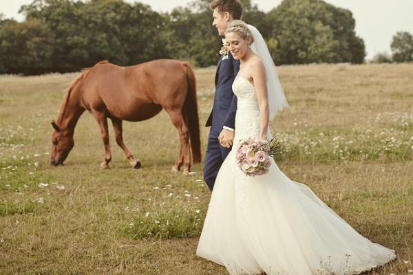 Dusky Pink Wedding Cowboy Wedding