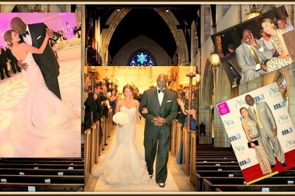 Yvette Prieto and Michael Jordan - A2zWeddingCards