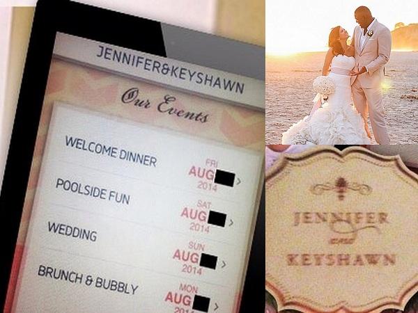 KeyShawn and Jenffer's Wedding Invitations - A2zWeddingCards