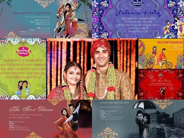 Pulkit and Shweta's Wedding Invitations