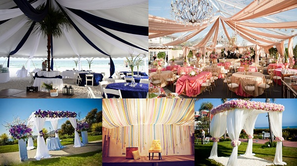 Say I Do Under These Inspirational Canopy Weddings Ideas