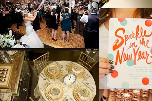 NYE Wedding - A2zWeddingCards