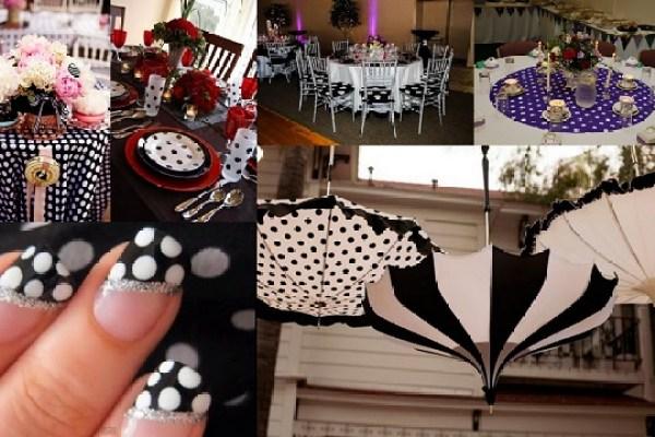 Polka dot Theme Wedding - Wedding Decor-A2zWeddingCards