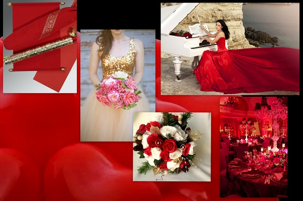 Valentines Wedding theme - A2zWeddingCards
