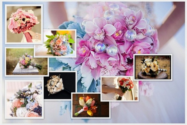 Pantone Inspired Spring Wedding bouquets 2016 - A2zWeddingCards