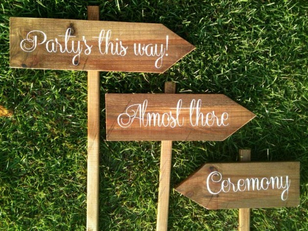 Wedding Signs - Harry Potter Theme Wedding Ideas
