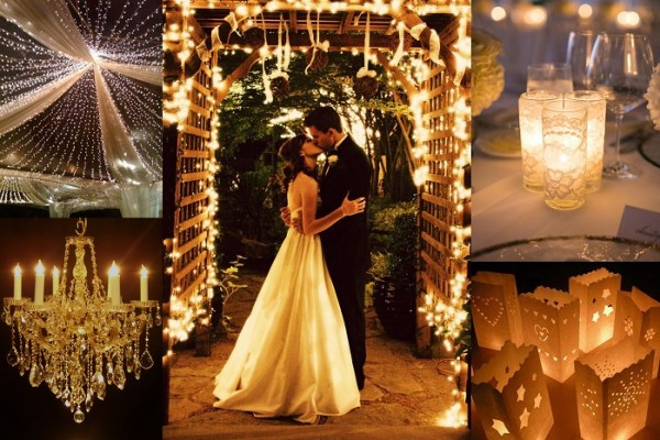 LED & Chandeliers Decor - A2zWeddingCards