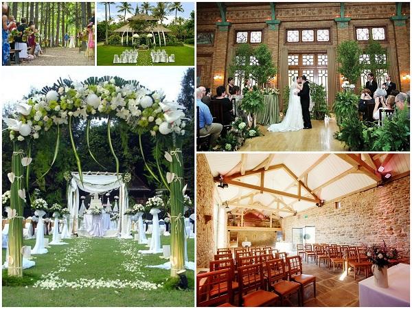Natural Decor Wedding Venues - A2zWeddingCards