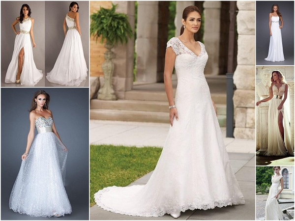 Wedding Dress Sustitutes - A2zWeddingCards
