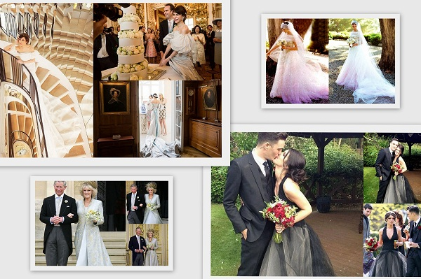 Celebrity Brides Wedding Dresses Colors - A2zWeddingCards