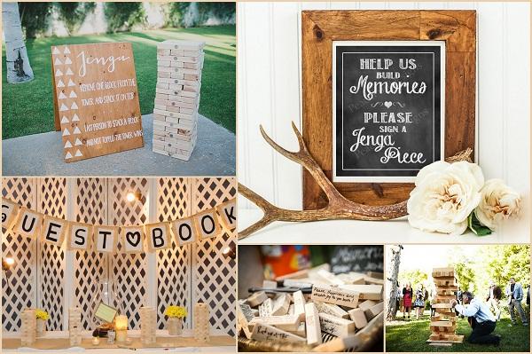 Jenga Wedding Theme Ideas - A2zWeddingCards