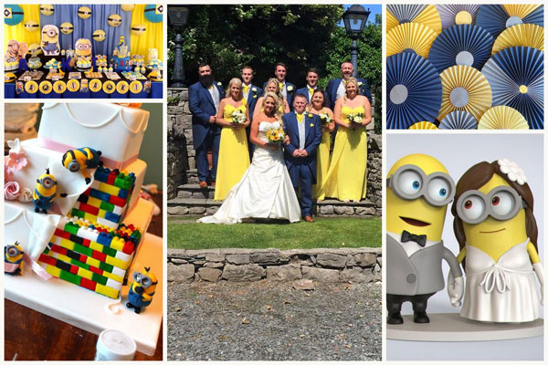 Minions Wedding Theme - A2zWeddingCards