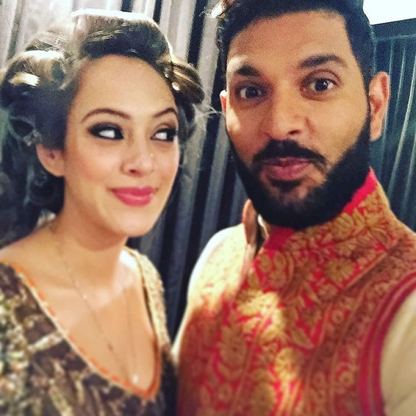 Yuvraj Singh Hazel Keech Wedding11