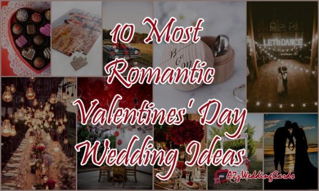 Valentines Day Wedding Ideas - A2zWeddingCards